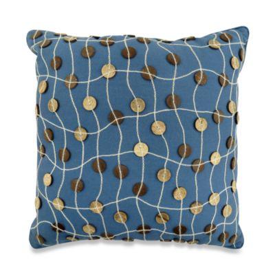 Park B. Smith® Napa Denim 16-Inch Square Throw Pillow