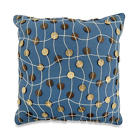 Park B. Smith® Napa Denim 16-Inch Square Throw Pillow