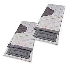 Coleman 174 Adjustable Comfort Sleeping Bags Bed Bath Amp Beyond