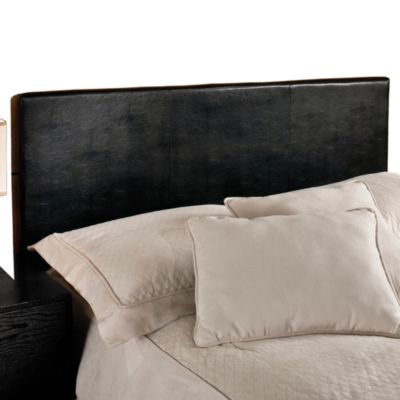 Hillsdale Springfield Headboard with Rails in Black
