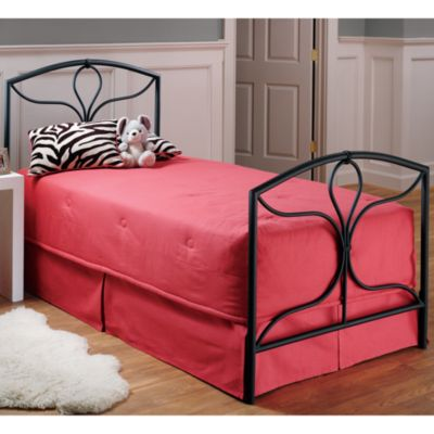 Hillsdale Morgan Bed Set with Rails