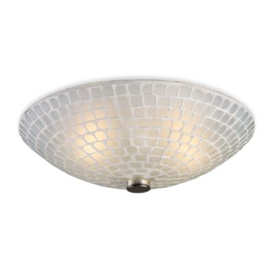 Elk Lighting White Mosaic