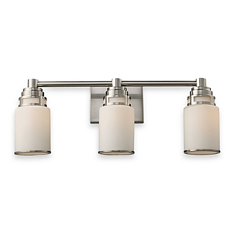 ELK Lighting Bryant Satin Nickel Vanity in 3-Light