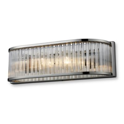 ELK Lighting Braxton 2-Light Vanity in Polished Nickel