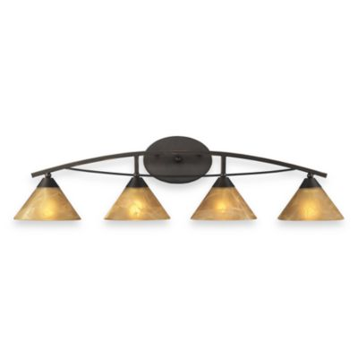 ELK Lighting Elysburg 4-Light Vanity in Aged Bronze