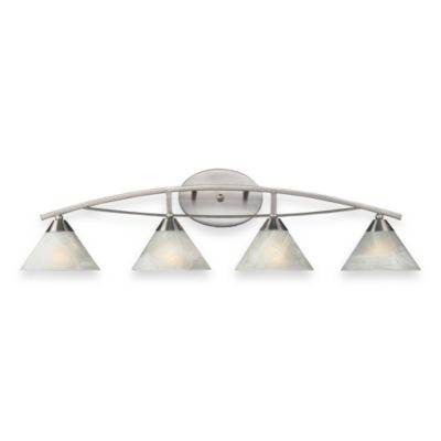 ELK Lighting Elysburg 4-Light Vanity Satin Nickel