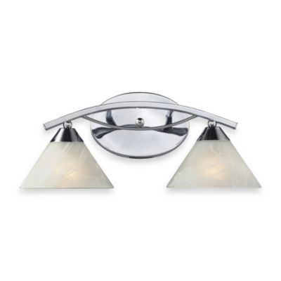 ELK Lighting Elysburg 2-Light Vanity in Polished Chrome