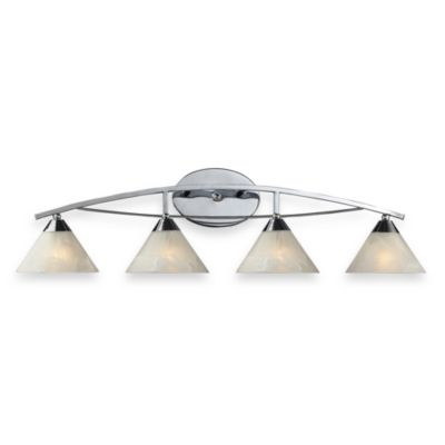 ELK Lighting Elysburg 4-Light Vanity in Polished Chrome