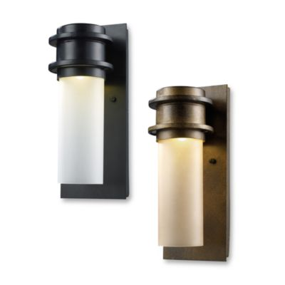 Black White Outdoor Light Fixture