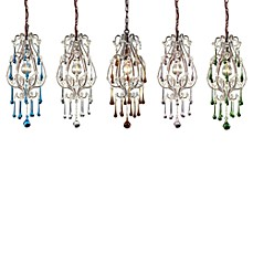 ELK Lighting Opulence 1-Light Pendants in Antique White