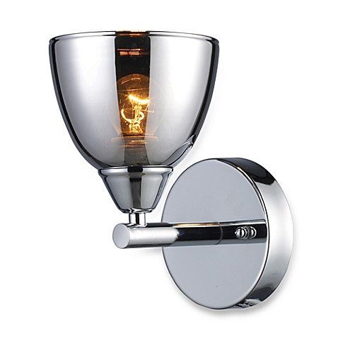 ELK Lighting Reflection 1-Light Vanity in Polished Chrome