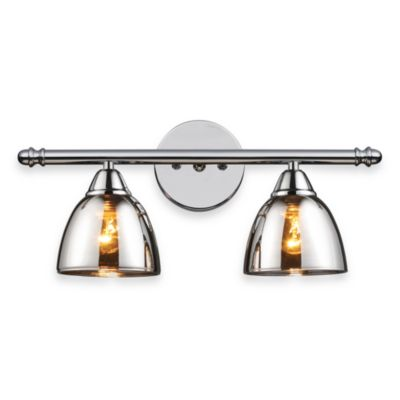 ELK Lighting Reflection 2-Light Vanity in Polished Chrome