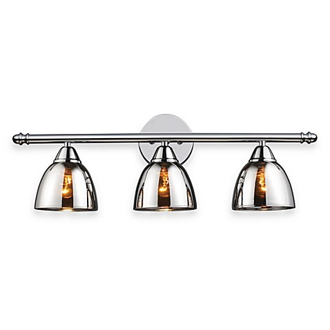 ELK Lighting Reflection 3-Light Vanity in Polished Chrome