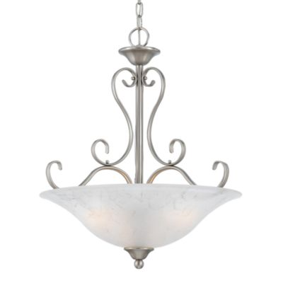 Quoizel Duchess 4-Light Pendant in Antique Nickel