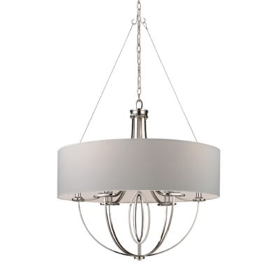 ELK Lighting Retrofit 28-Inch Drum Shade in Beige