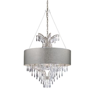 ELK Lighting Retrofit 28-Inch Drum Shade in Silver