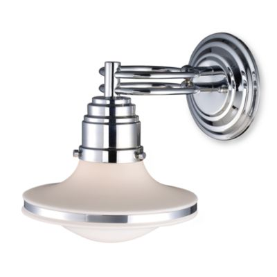 ELK Lighting Retrospectives 1-Light Sconce in Polished Chrome