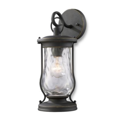 ELK Lighting Farmstead 1-Light Outdoor Sconce in Matte Black