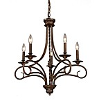 ELK Lighting Gloucester 5-Light Chandelier in Antique Bronze
