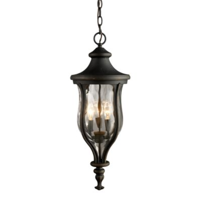 ELK Lighting Grand Aisle 3-Light Outdoor Pendant