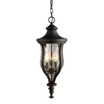 ELK Lighting Grand Aisle 3-Light Outdoor Pendant