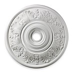 ELK Lighting Laureldale 30-Inch Ceiling Medallion in White