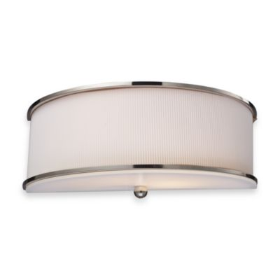 ELK Lighting Lureau 2-Light Sconce in Polished Nickel