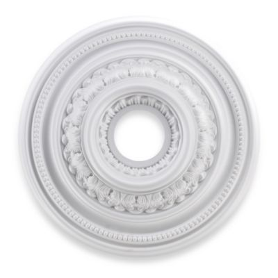 ELK Lighting English Study 18-Inch Ceiling Medallion in White