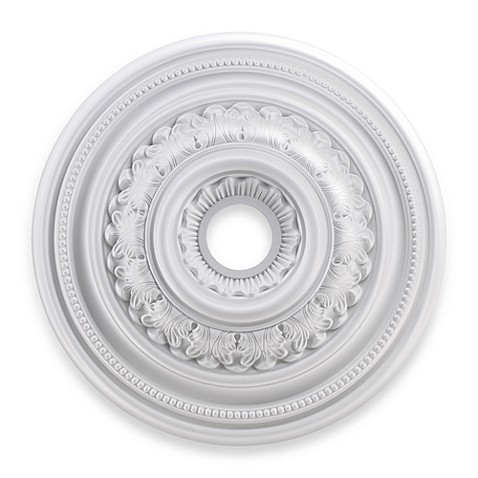 ELK Lighting English Study 24-Inch Ceiling Medallion in White