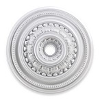 ELK Lighting English Study 32-Inch Ceiling Medallion in White