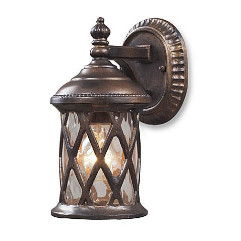 ELK Lighting Barrington Gate 1-Light Outdoor Sconce