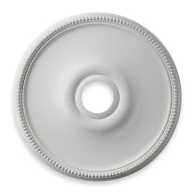 ELK Lighting Brittany 19-Inch Ceiling Medallion in White