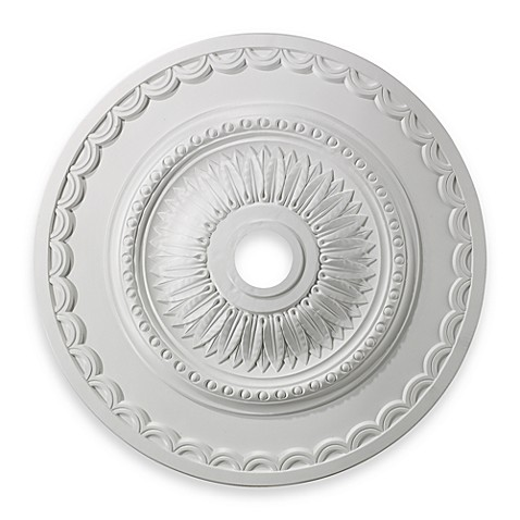 ELK Lighting Brookdale 30-Inch Ceiling Medallion in White