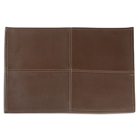 Buy Faux Leather Placemat From Bed Bath Amp Beyond