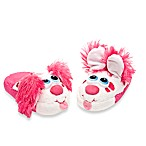 Stompeez™ Large Perky Pink Puppy Slippers