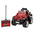 Black Series Remote Control Off-Road Safari Vehicle in Red