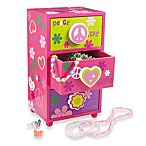 Mele & Co. Daisy Girl's Jewelry Box