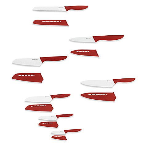 Bialetti Aeternum Santoku 3-Piece Knife Set and Open Stock