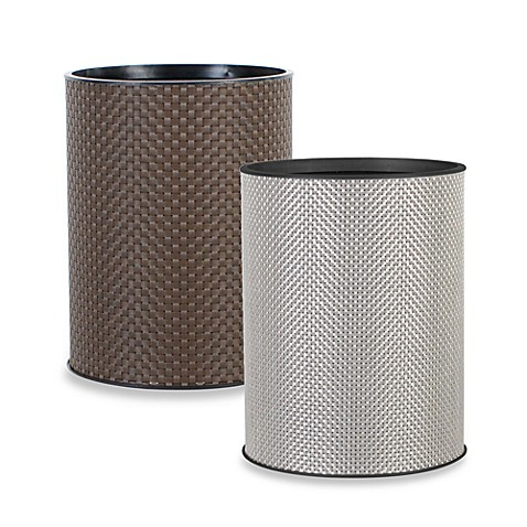 Lamont Home™ Basketweave Wastebasket