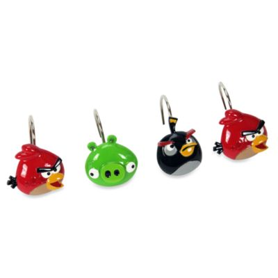 Angry Birds™ Shower Curtain Hooks
