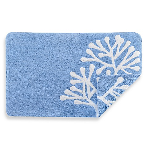 Fresh Floral Real Simple Bath Rug