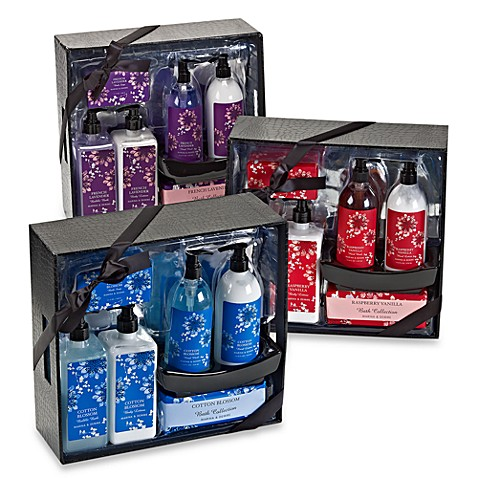 Scented/Large Storage Container Bath Gift Set