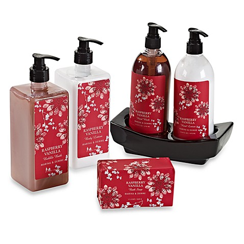 Bath Gift Set in Raspberry Vanilla