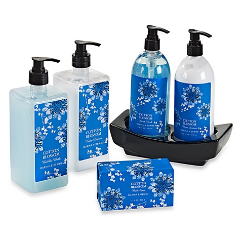 Cotton Blossom Bath Gift Set