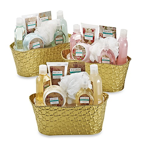Waverly Tin Bucket Bath Set
