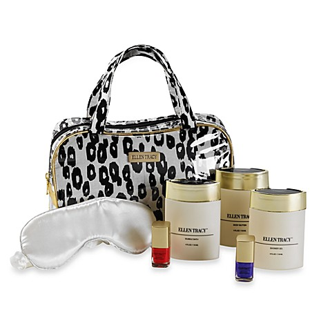 Ellen Tracy™ Printed Cosmetic Bag Gift Set