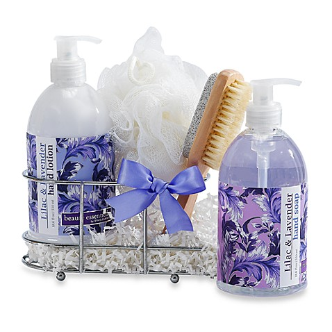 Lavender Spa Caddy