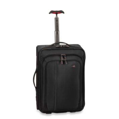 Victorinox® Werks Traveler™ 4.0 Black 20-Inch Wheeled Carry-On