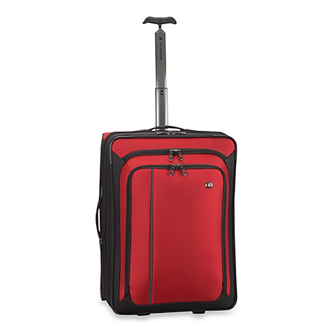 Victorinox® Werks Traveler™ 4.0 Red 24-Inch Expandable Wheeled Upright