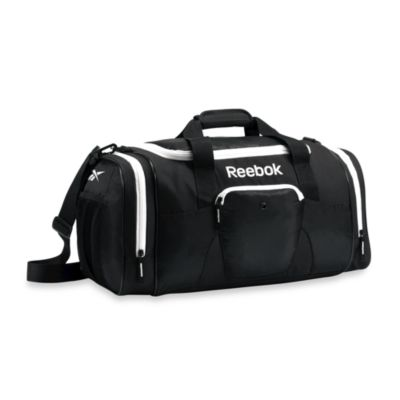 Reebok® 21-Inch Slimm Duffel in Black & White